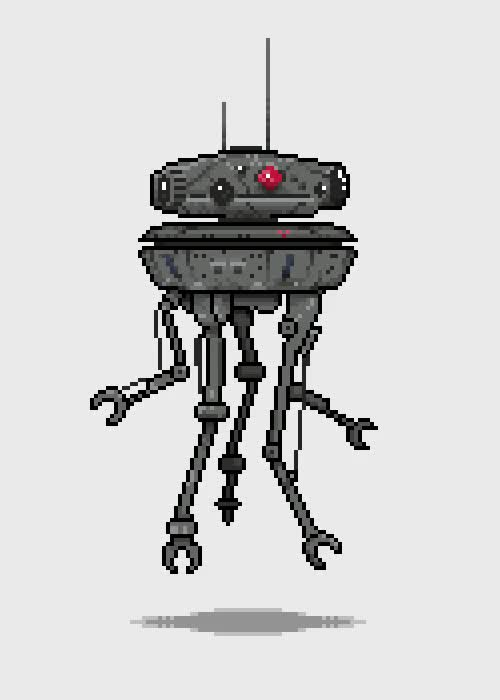 Watch Imperial Probe Droid GIF on Gfycat. Discover more related GIFs on Gfycat