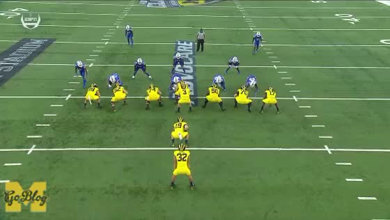Watch and share Tyrone Wheatley Jr GIFs and Football GIFs by MGoBlog on Gfycat