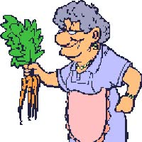 Watch and share Old Woman Carrotd animated stickers on Gfycat