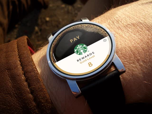 Watch and share Starbucks Android Wear GIFs on Gfycat