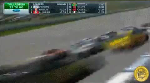 Watch and share Talladega Shibe: The Dogecar's NASCAR Highlights GIFs on Gfycat