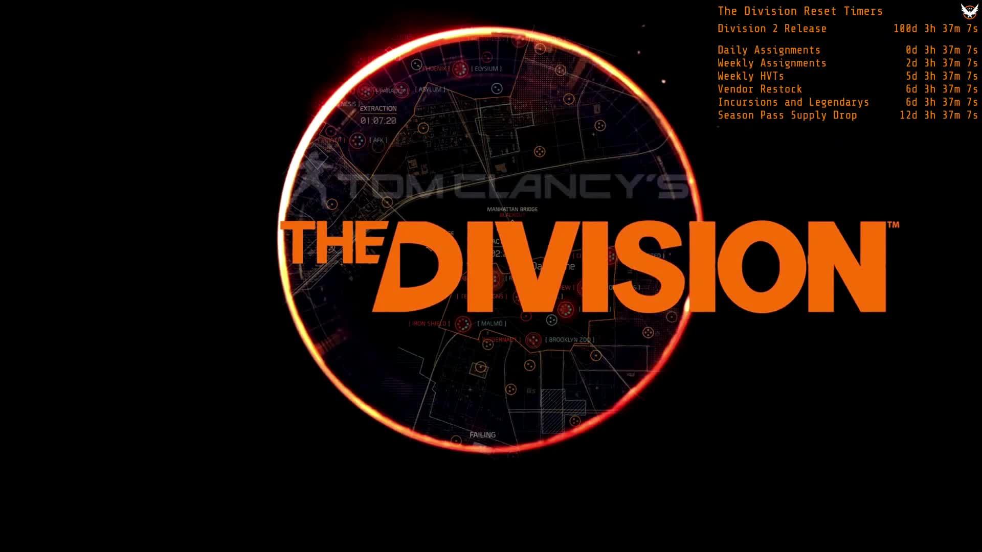 Division 2 Countdown