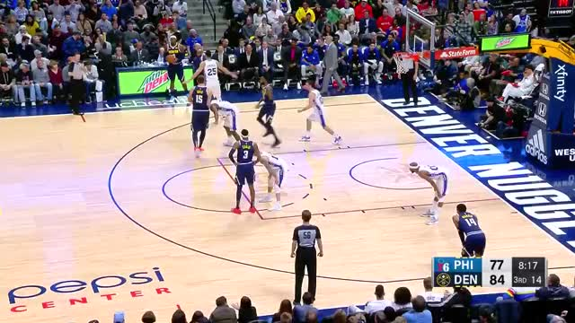 Watch and share Philadelphia 76ers GIFs and Denver Nuggets GIFs on Gfycat