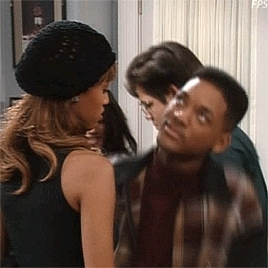 fresh prince, fresh prince of bel air, gifset, jackie ames, season 4, tyra banks, will smith, you've got to be a football hero, Fresh Prince of Bel Air. GIFs