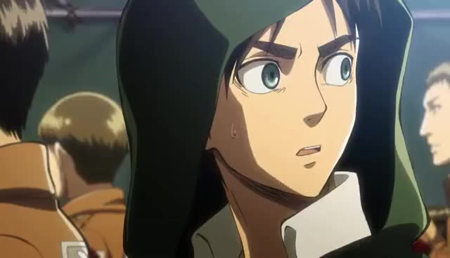 Watch and share Eren Jaeger GIFs and Erwin Smith GIFs on Gfycat