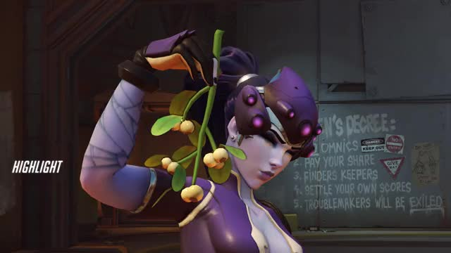 Watch and share Widowmaker GIFs and Highlight GIFs by draiocht on Gfycat