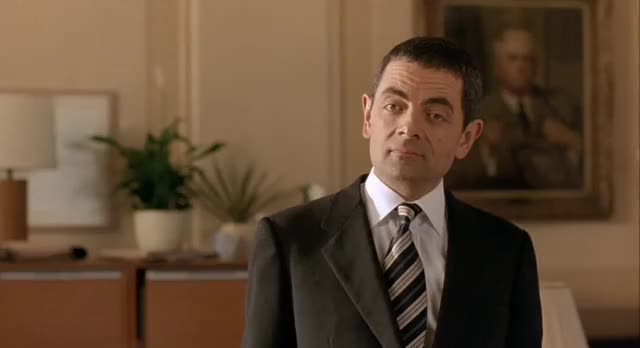 Watch and share Johnny English GIFs and Rowan Atkinson GIFs by shadowst17 on Gfycat