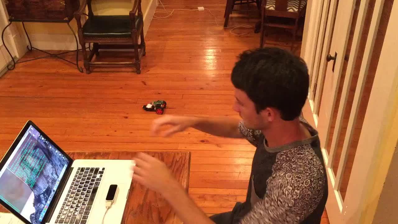 Project, Python, diy, RasPiLeapBot - A Gesture Controlled Robot GIFs