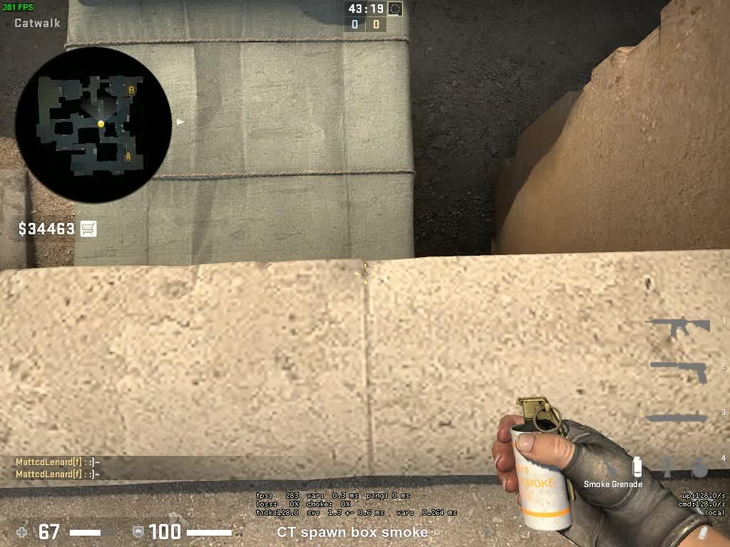 counter strike global offensive, cs:go, csgo, globaloffensive, CT spawn box smoke GIFs