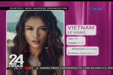 Vừa tới Philippines, Lệ Hằng đã ghi điểm tại Miss Universe