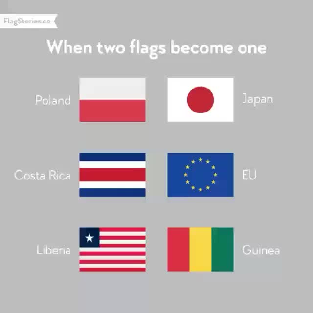 Watch and share 'When Two Flags Become One' - FlagStories.co GIFs by horseysuprise on Gfycat