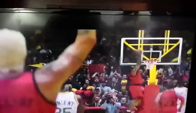 Watch and share Basketball GIFs and Dunk GIFs on Gfycat