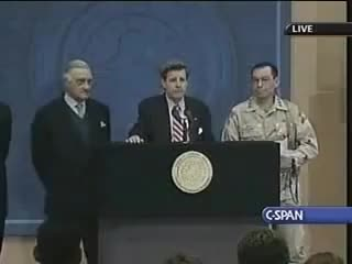 Watch Ladies and Gentlemen: We got him!! GIF on Gfycat. Discover more Bremer, CPA, Occupation, got, him, hussein, iraq, paul, saddam, span, war, we GIFs on Gfycat