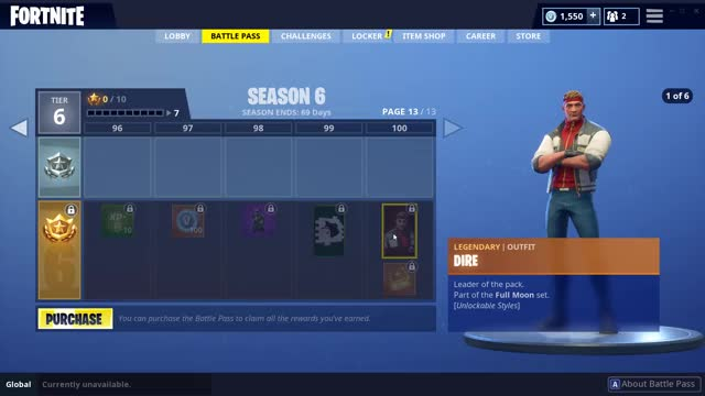 How To Upgrade The Dire And Calamity Skins In Fortnite Tips