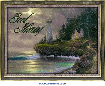 Watch and share Good Morning - Rainy Day-wg018187 animated stickers on Gfycat