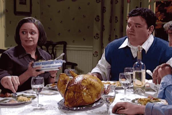debbie downer, feast, happy thanksgiving, snl, thanksgiving, turkey, Debbie Downer Thanksgiving - SNL GIFs