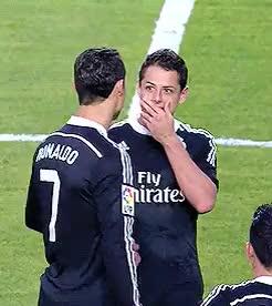 Watch and share Cristiano Ronaldo GIFs and Javier Hernandez GIFs on Gfycat
