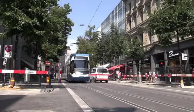 Watch Tram - Straßenbahnen in Zürich City - Blockbuster Sunday GIF on Gfycat. Discover more related GIFs on Gfycat