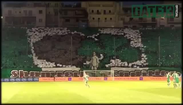 Watch and share PANATHINAIKOS - Dinamo Moskva (18/09/2014) | Gate13.gr GIFs on Gfycat