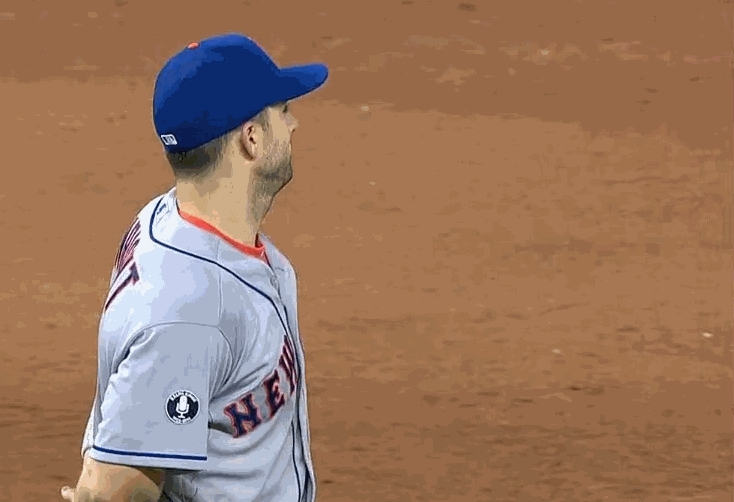 newyorkmets, David Wright jokingly refuses to hug Lucas Duda after win against Miami (WARNING: ADORABLE) (reddit) GIFs