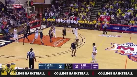 Watch and share Maui Invitational GIFs and Duncan Robinson GIFs by MGoBlog on Gfycat