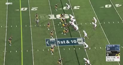 Watch and share Iowa LB Discipline 2 GIFs by Andrew Callahan on Gfycat