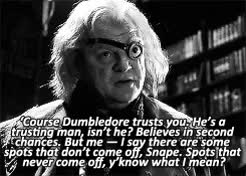 Watch and share Mad Eye Moody GIFs and Severus Snape GIFs on Gfycat