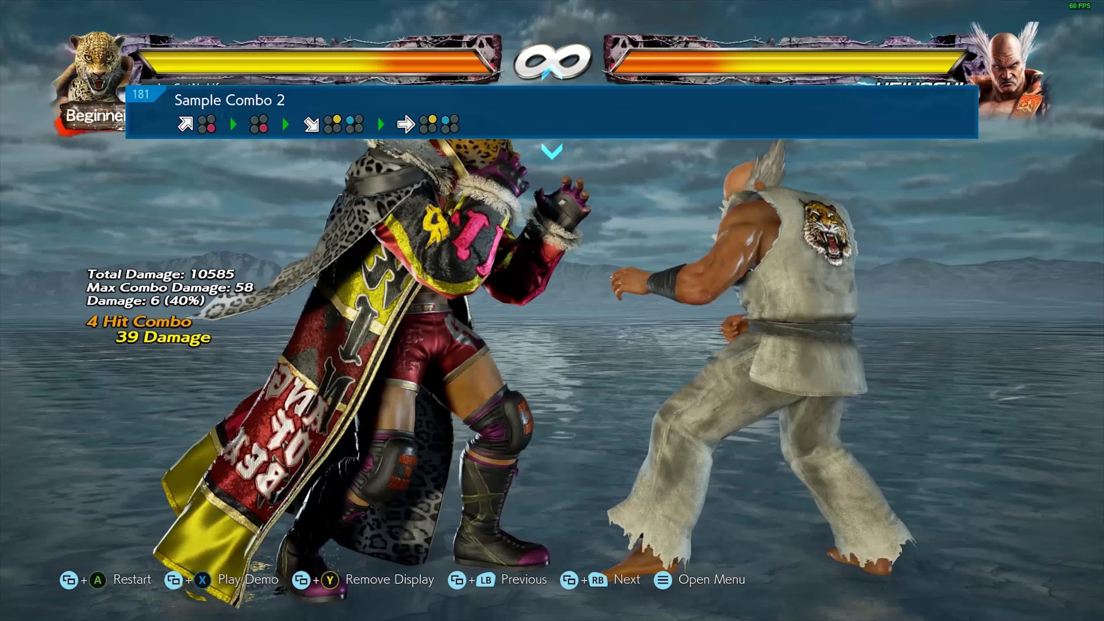 Tekken 7 King combo