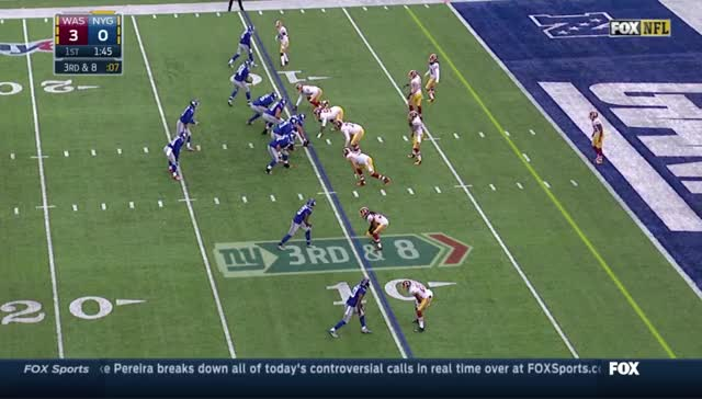 Watch and share Washington Redskins GIFs and New York Giants GIFs by dannybkelly on Gfycat