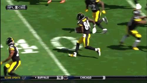 Antonio Brown's Falcon Kick! and another Team image : fantasyfootball GIFs