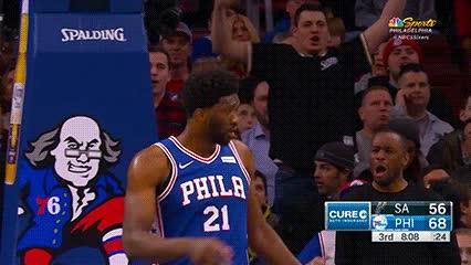 010318, Joel Embiid — Philadelphia 76ers GIFs