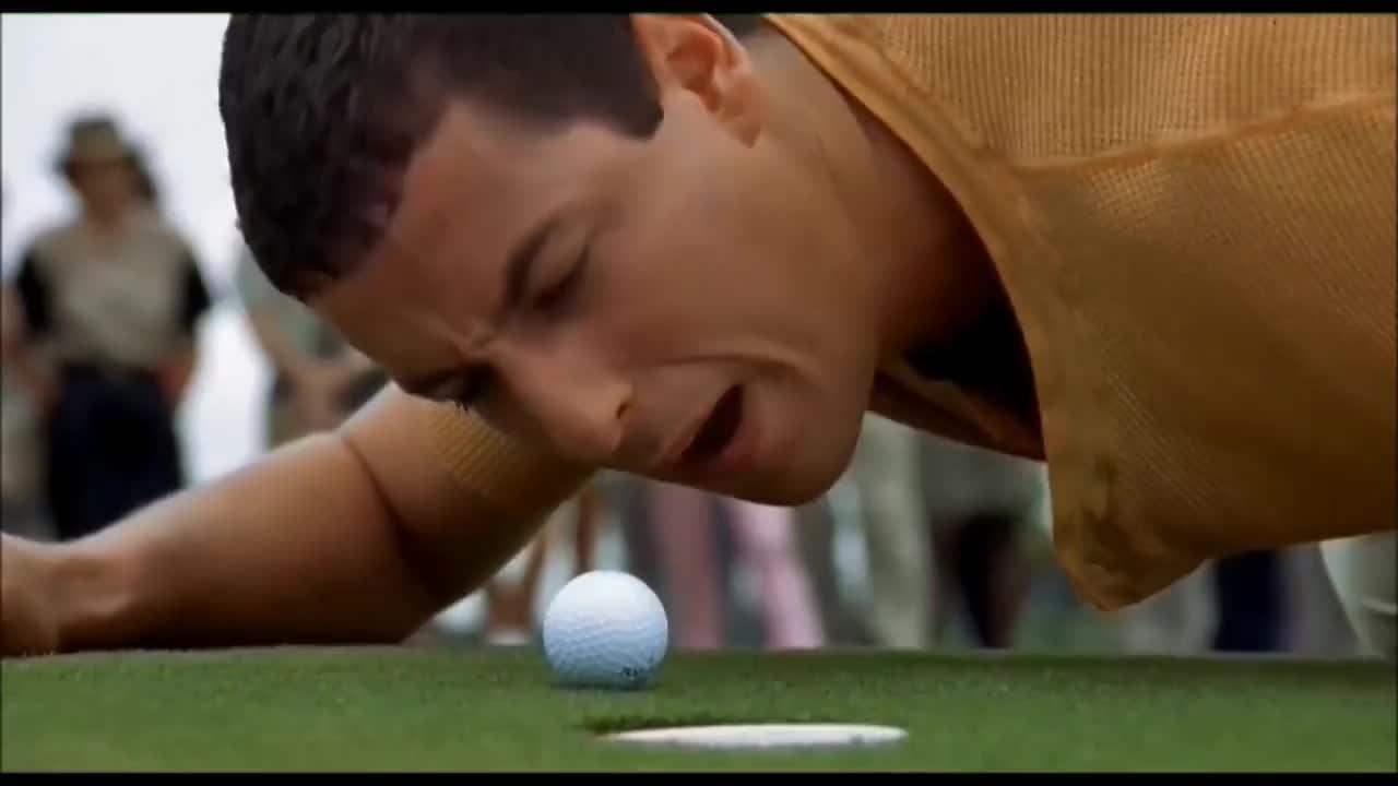 Golf, Waterboy, best, clown, funny, golf, golfing, operaman, sports, waterboy, zohan, Sandler Golf GIFs