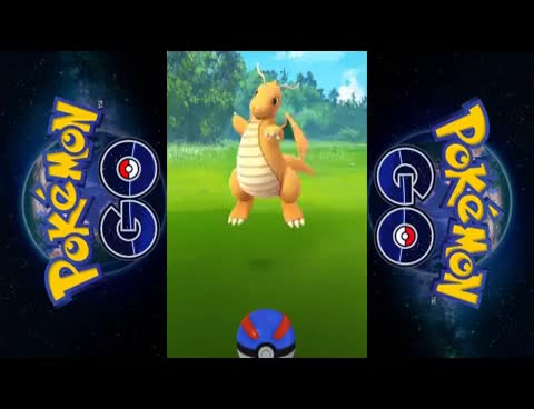 Watch and share Pokemon GO: Catching Dragonite! GIFs on Gfycat