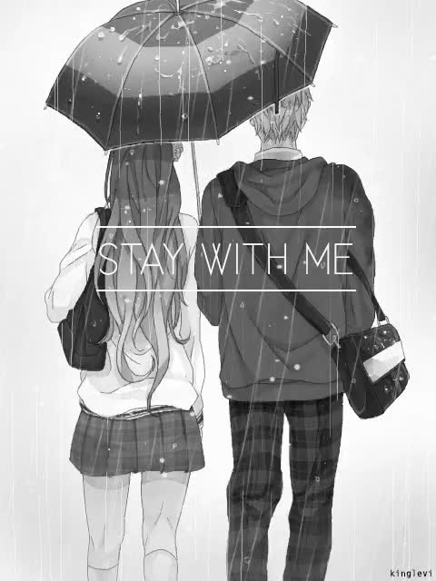 Watch this GIF on Gfycat. Discover more Anime, Anime gif, Art, couple, love, manga, manga boy, manga gif, manga girl, rain, stay with me GIFs on Gfycat