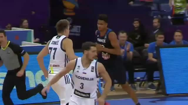 Watch Slovenia v France - Full Game - FIBA EuroBasket 2017 GIF on Gfycat. Discover more 06, 09, 2017, Europameisterschaft, FIBA, Final, Fra, association, basketball, eurobasket, france, re-live, round, slo, slovenia GIFs on Gfycat