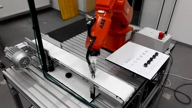 Watch and share MCI - ABB Robot Optical Conveyor Tracking GIFs on Gfycat
