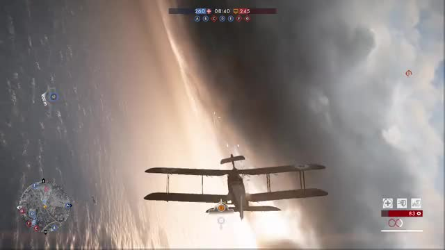 Watch Two Birds, One Bird GIF by @axaz56 on Gfycat. Discover more BF1, Battlefield, Dogfight, Gaming, Planes GIFs on Gfycat