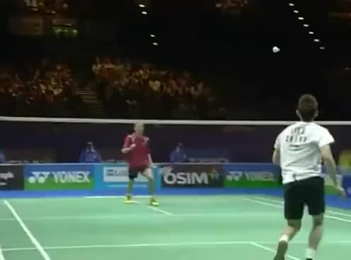 Watch and share Badminton GIFs and Sports GIFs on Gfycat