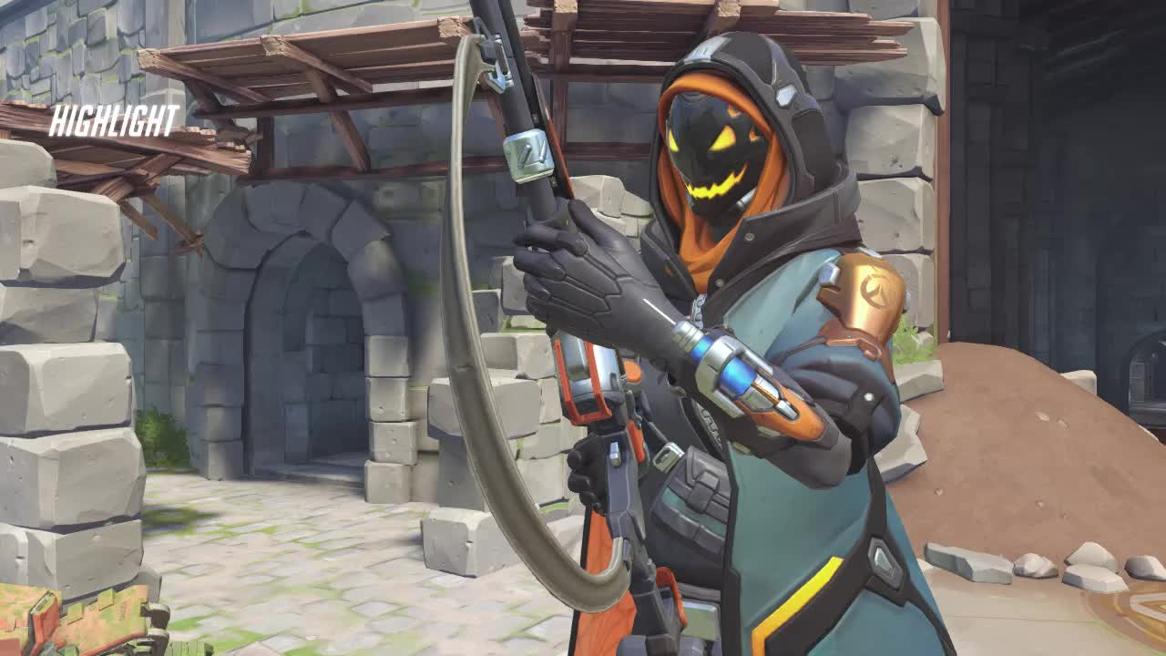 Pharah's rockets aren't the only projectiles