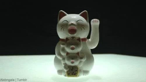 Watch and share Maneki Neko GIFs and Animation GIFs on Gfycat