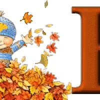 Watch and share Autumn Fall Boy Child Alphabet Animated Falling Leaves Gif animated stickers on Gfycat