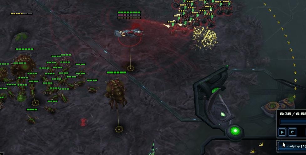 GosuMicro, Starcraft 2, marine splitting, As someone learning terran I'm really proud GIFs