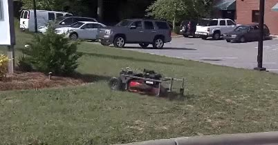 Watch and share Robot Lawn Mower GIFs on Gfycat