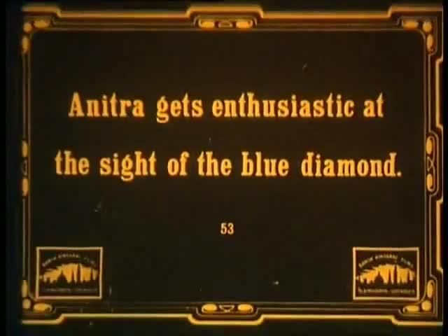 Dr  Nicholson og den blaa diamant/Doctor Nicholson y el diamante azul (1913, Dinamarca).