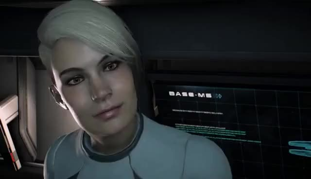 Watch and share Mass Effect: Andromeda - Cora Harper Romance GIFs on Gfycat