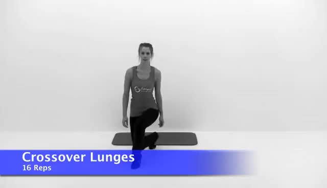 Watch Crossover Lunges GIF on Gfycat. Discover more workout GIFs on Gfycat