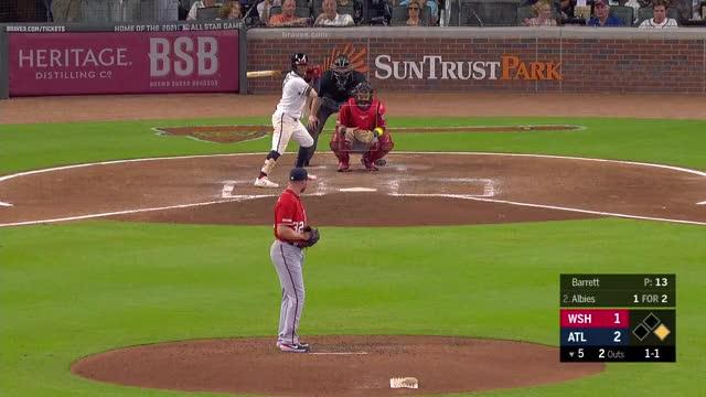 Watch and share Atlanta Braves GIFs and Baseball GIFs by richardopl on Gfycat