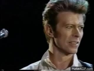 Watch and share David Bowie GIFs on Gfycat