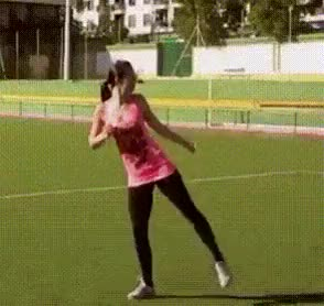 Watch cool girl flexibility leg stretching GIF on Gfycat. Discover more related GIFs on Gfycat