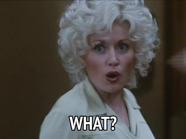 Watch and share Dolly Parton GIFs and What GIFs by MikeyMo on Gfycat
